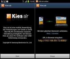 samsung kies software for android kies air android app chip