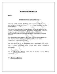 Balance Certification Letter Authorization Letter Sample Birth Certificate Format For