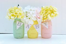 jar baby shower centerpieces jar baby shower mint baby shower baby sprinkle and baby