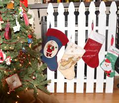 diy fence post stocking holder recipe for a sweet life