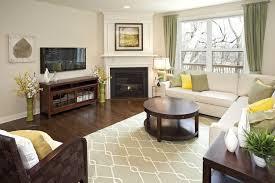 Living Room Furniture Arrangement With Fireplace Living Room Arrangements With Fireplace 20