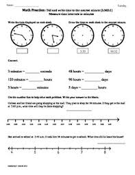elapsed time worksheets 4th grade 3 md 1 elapsed time part1 3rd grade common math worksheets