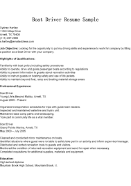 Sample Resume Objectives For Drivers by Driver Cv Sample In Uae