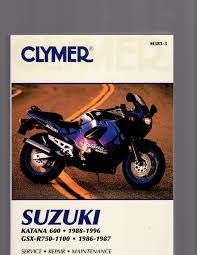 suzuki katana 600 1988 1996 gsx r750 1100 1986 1987 service