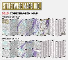 Copenhagen Map Streetwise Copenhagen Map City Center Street Map Of Copenhagen