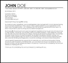 case manager cover letter template free case manager cover letter
