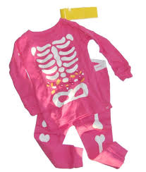 glow in the dark halloween pajamas baby gap girls halloween glow dark skeleton pajamas pjs 12 18 mos