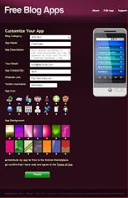 easily create an android for blog itechcrazy com