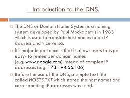 Domain Naming System Dns Tech by What Is The Domain Name System Dns Overview 1 Introduction