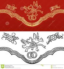 wedding ornament stock vector illustration of invitation 34621269