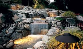 outdoor water features with lights landscape water features outdoor kits