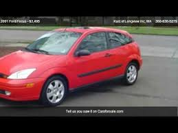 2001 ford focus craigslist 2001 ford focus zx 3 2 door for sale in longview wa 98632