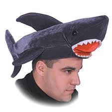 Shark Costume Halloween Amazon Halloween Shark Costume Hat Clothing
