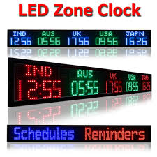 digital time zone clocks are perfect solution for managing your