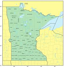 mn counties map counties map of minnesota mapsof