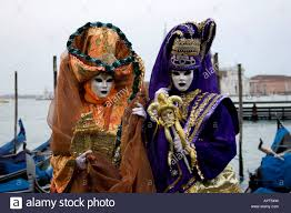 carnevale costumes orange and purple costumes hats and masks carnevale di venezia