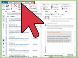 outlook 2013 design how to find tools in outlook 2013 14 steps with pictures