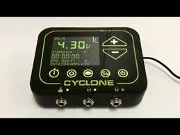 cyclone tilt digital tattoo power supply unit youtube