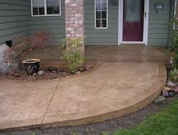 Outdoor Concrete Patio Outdoor Concrete Patio Paint Ideas Home Design Ideas