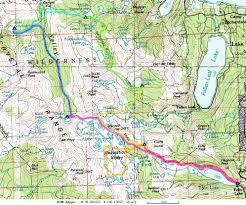Rubicon Trail Map Trip Reports Desolation Wilderness 2003