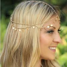hippie hair bands boho women hippie coin headband headpiece chain vintage