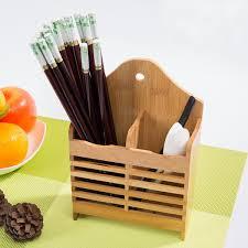 Bamboo Silverware Holder Online Get Cheap Bamboo Utensil Holder Aliexpress Com Alibaba Group