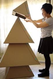 cardboard christmas tree makedo cardboard christmas tree puj simplifying parenthood