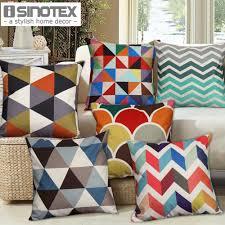 aliexpress com buy 1 pcs nordic vintage cushion cover colorful