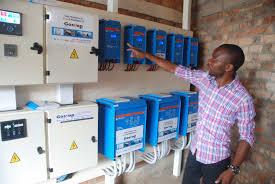 le bureau solaire le bureau du pnud à bukavu désormais alimenté par de l énergie