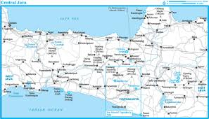Map Java Central Java U2013 Bingetravelerinc