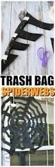 How To Draw A Halloween Picture Step By Step How To Make Trash Bag Spiderwebs Momdot