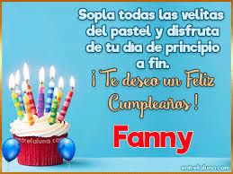 imagenes de feliz cumpleaños amor animadas 12 gifs de cumpleaños con nombre para fanny
