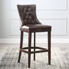 Cheap Bar Stools For Sale by Belham Living Thomas Tufted Bar Stool Hayneedle