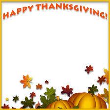 thanksgiving pumpkin border clipart clipartxtras