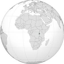 Burundi Africa Map by Location Of The Burundi In The World Map