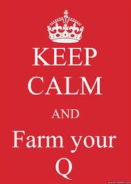 How To Make Your Own Keep Calm Meme - keep calm and farm your q keep calm or gtfo quickmeme