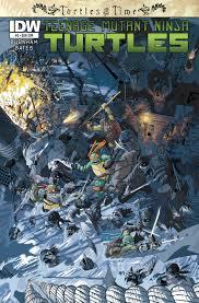 teenage mutant ninja turtles teenage mutant ninja turtles turtles in time 3 u2013 idw publishing