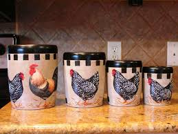 rooster kitchen canister sets new inspiration rooster kitchen decor ideas joanne russo