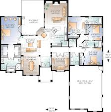 4 bedroom 1 story house plans wonderful modern 1 story house plans contemporary ideas house