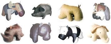 Hippo Ottoman Reiner S Original Animal Ottomans Modern Country Interiors