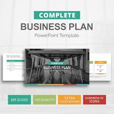 business plan template for powerpoint slideson