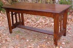 Arts And Crafts Dining Room Furniture Dining Room Black River Mission