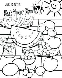 healthy food coloring pages preschool healthy food coloring pages coloring pages food healthy food