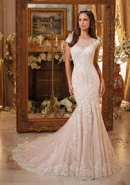 lace wedding dresses vintage vintage embroidered lace on soft net wedding gown style 5466