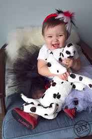 Dalmatian Halloween Costume Toddler Diy Cruella Vil Costume Child Diy Village