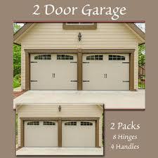 Decorative Garage Door Hinge It Decorative Garage Door Accents Magnetic Black