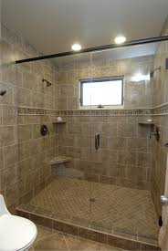 Windows In Bathroom Showers Walk In Tile Shower Ideas Design Decoration