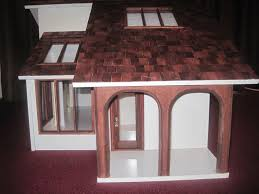 furniture ranch ebay dollhouse with white wall and pretty roof