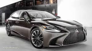 lexus ls v10 2018 lexus ls 500 luxury cars youtube