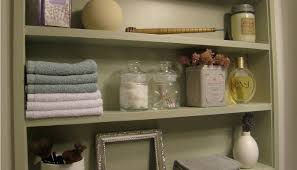 Bathroom Wall Cabinet With Towel Bar Bath Towel Storage Bathroom Wall Shelves With Towel Bar 18
